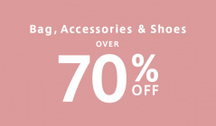 OVER 70%OFF bag & acc & shoesのセールをチェック