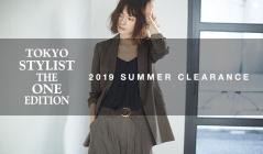 TOKYO STYLIST THE ONE EDITION 2019SS MORE SALE(トウキョウスタイリストジワンエディション)のセールをチェック