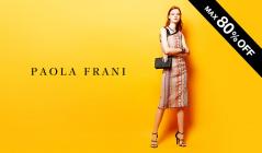PAOLA FRANI MAX 80%OFF(パオラ フラーニ)のセールをチェック