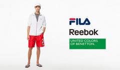 FILA/REEBOK/BENETTON SWIMWEAR MENのセールをチェック