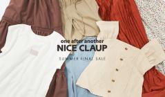 NICE CLAUP -SUMMER FINAL SALE-のセールをチェック