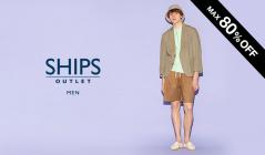 SHIPS OUTLET MEN -ALL80%OFF-のセールをチェック