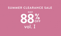 SUMMER CLEARANCE SALE MAX88%OFF Ⅰのセールをチェック