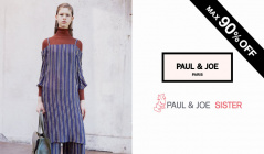 PAUL & JOE and SISTER MAX 90%OFF(ポールアンドジョー)のセールをチェック