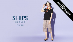 SHIPS OUTLET WOMEN -MAX80%OFF-のセールをチェック