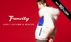 FUNCITY FUR SELECTION__EARLY AUTUMN & WINTERのセールをチェック