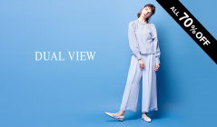 DUAL VIEW -ALL 70%OFF-のセールをチェック