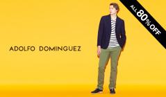 ADOLFO DOMINGUEZ MEN - MAX 80%OFF(アドルフォ・ドミンゲス)のセールをチェック