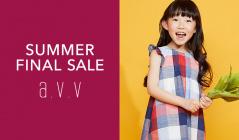 a.v.v Kids -SUMMER FINAL SALE-(アーヴェヴェ)のセールをチェック