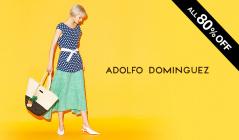 ADOLFO DOMINGUEZ WOMEN OVER 80%OFF(アドルフォ・ドミンゲス)のセールをチェック