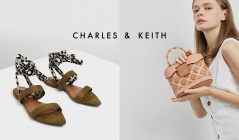 CHARLES&KEITH(チャールズアンドキース)のセールをチェック