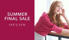 OFUON -SUMMER FINAL SALE-(オフオン)のセールをチェック