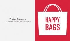 NUDIE JEANS HAPPY BAG(ヌーディージーンズ)のセールをチェック