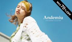 ANDEMIU -MAX 70%OFF-(アンデミュウ)のセールをチェック