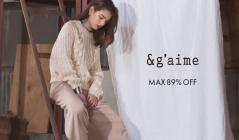 & G'AIME -MAX89%OFF-のセールをチェック