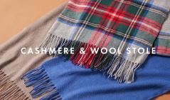 CASHMERE & WOOL STOLEのセールをチェック
