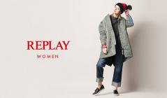 REPLAY WOMEN(リプレイ)のセールをチェック