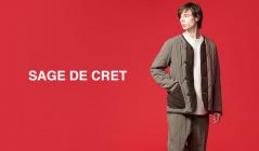 SAGE DE CRET(サージュデクレ)のセールをチェック
