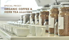 SPECIAL PRICE!! ORGANIC COFFEE & HERB TEA SELECTIONのセールをチェック