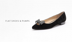 FLAT SHOES & PUMPS COLLECTION(レベル)のセールをチェック