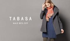 TABASA (タバサ)のセールをチェック