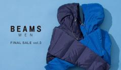 BEAMS MEN -FINAL SALE Vol3-(ビームス)のセールをチェック