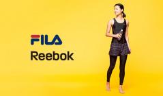 FILA/REEBOK FITNESSWEARのセールをチェック
