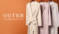 OUTER for CEREMONIAL STYLEのセールをチェック