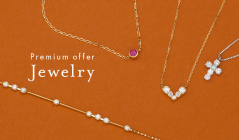 Premium offer Jewelry selectionのセールをチェック