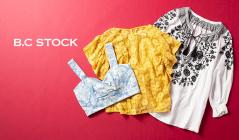 B.C STOCK WOMEN - MAX80%OFF -(ベーセーストック)のセールをチェック