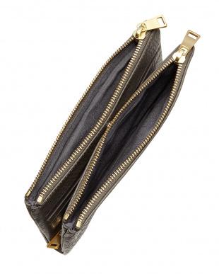 Black スモールクラッチバッグ/長財布|WOMEN見る