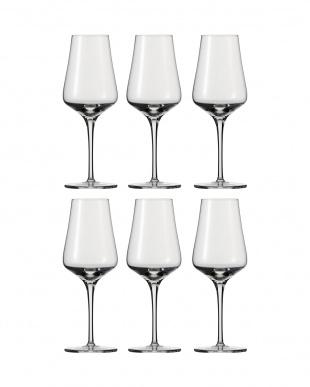 FINE 白ワイングラス(リースリング)6個セットを見る
