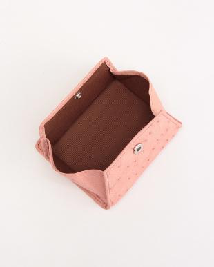 ピンク オーストリッチコインケースを見る