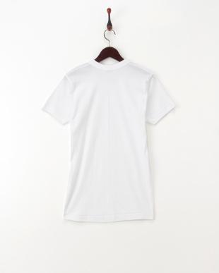 ホワイト コットンTシャツ2枚組を見る