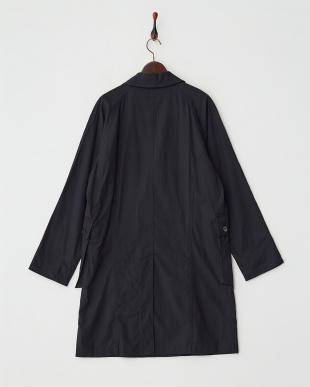 ネイビー lamond tencel chester coatを見る