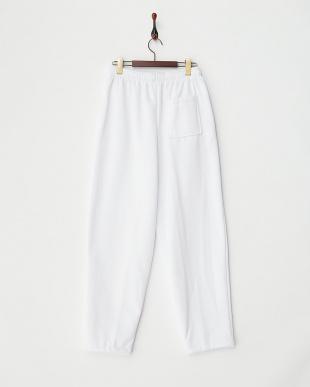 ホワイト eric fleece pantsを見る