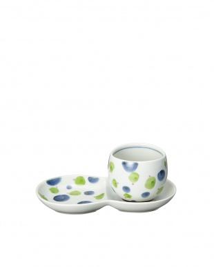 グリーン しゃぼん猫ミニ碗皿を見る