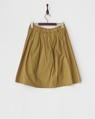 キャメル シェプリーギャザースカートを見る