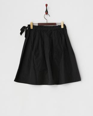ブラック シェプリーギャザースカートを見る
