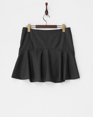 グレー ストライプマーメイドスカートを見る