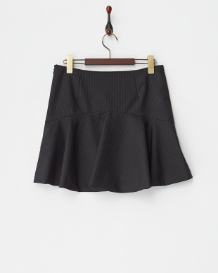 ネイビー ストライプマーメイドスカートを見る