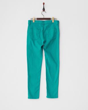 グリーン 5ポケットカラースキニーパンツを見る
