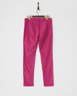 ピンクパープル 5ポケットカラースキニーパンツを見る