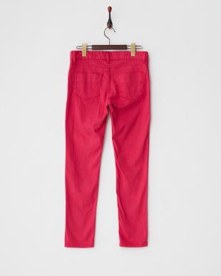 マゼンタピンク 5ポケットカラースキニーパンツを見る