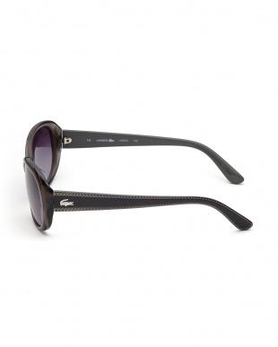 グレー デザインテンプルサングラスを見る