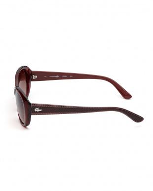 ボルドー デザインテンプルサングラスを見る