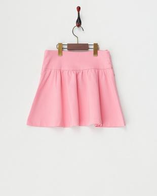 ピンク ポンチカットスカートを見る