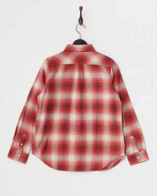 RED 杢ネルオンブレチェックシャツを見る