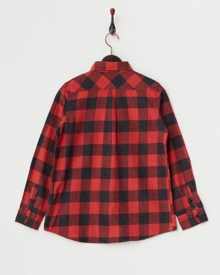 35 RED 杢ネルバッファローチェックシャツを見る