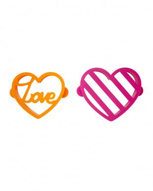 LOVE&ハート パンケーキ型見る